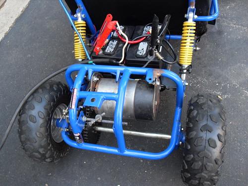 Charging The 24 Volt Dc Electric Go Cart Class Project Clo
