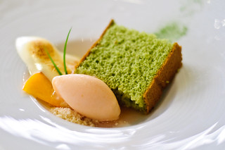 #18 - green tea cake @ Bar Charlie, Las Vegas | by ehfisher