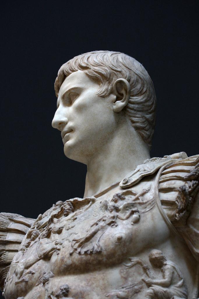 Augustus of Prima Porta (Vatican Museums) | Portrait of ...