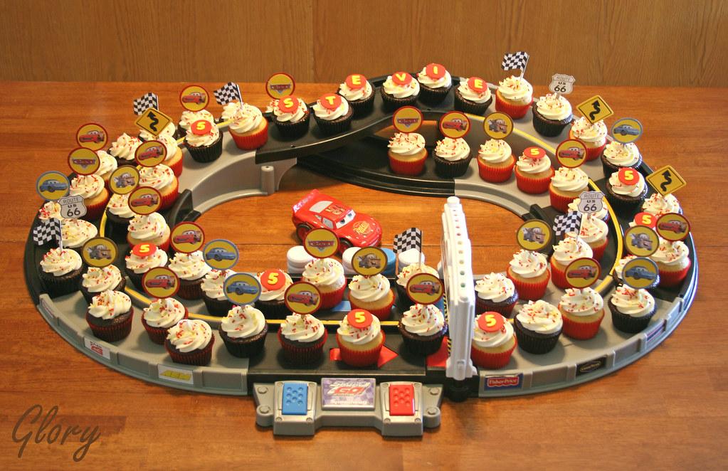 Cars Birthday Cupcakes By Glorious Treats Disney Cake Ideas