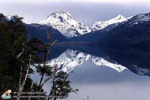 Invierno En Patagonia: Invierno En Lago Villarino San Martín De Los Andes
