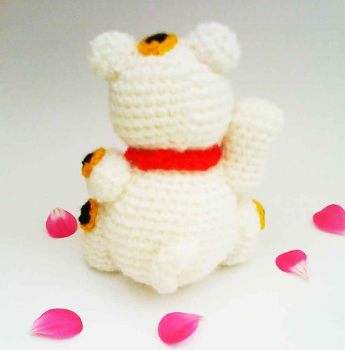 Maneki Neko Lucky Cat Amigurumi Crochet Pattern Good ...