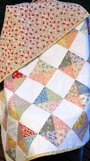 1930's Quilt - Reproduction Fabrics | by Swede-Heart