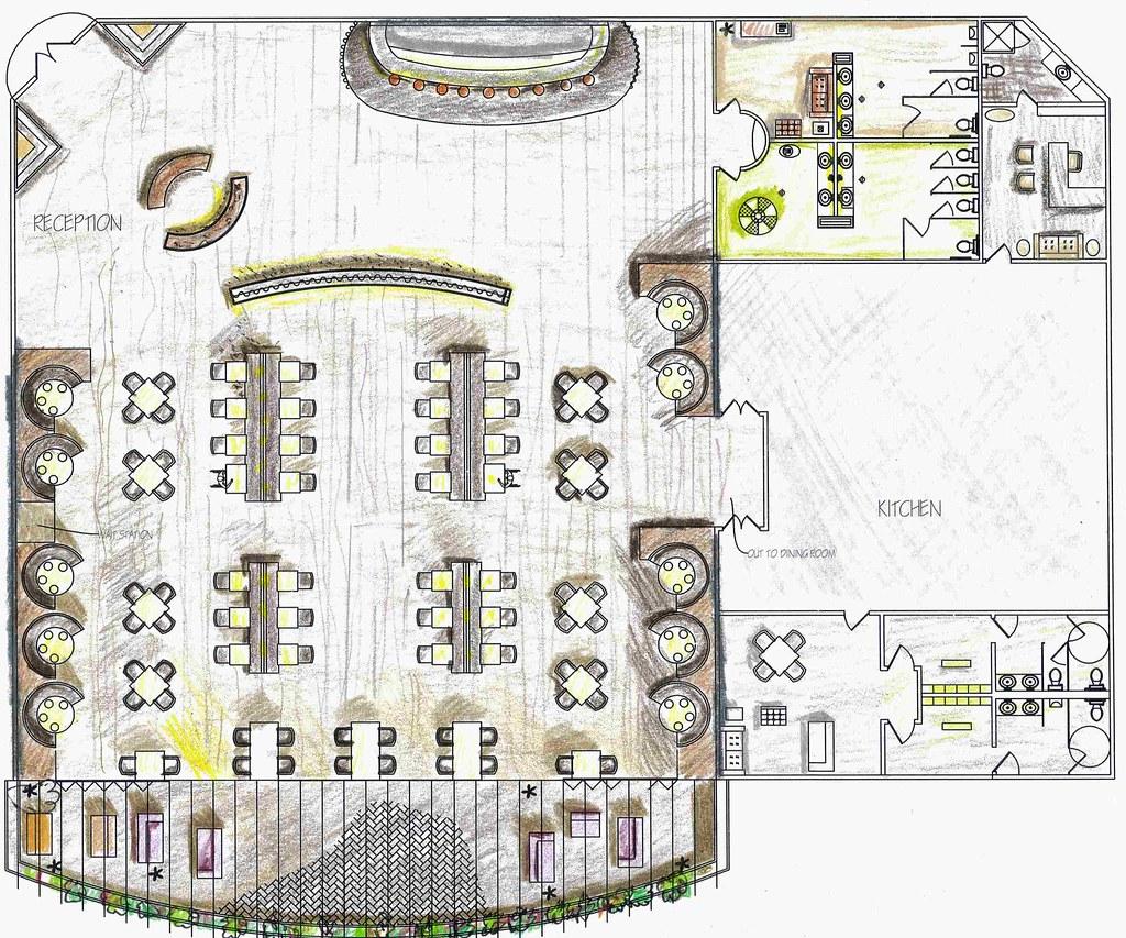 How To Create Layout Plan Rendered Floor Plan Rendered Autocad Floor Plan For