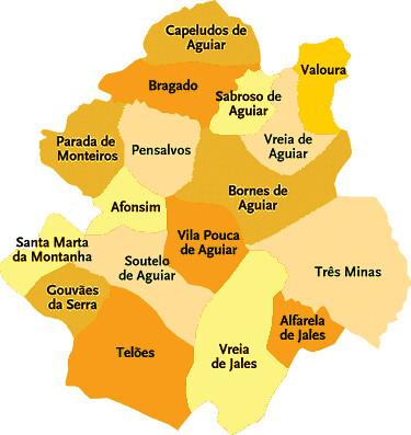 vila pouca de aguiar mapa Vila Pouca De Aguiar Mapa | thujamassages