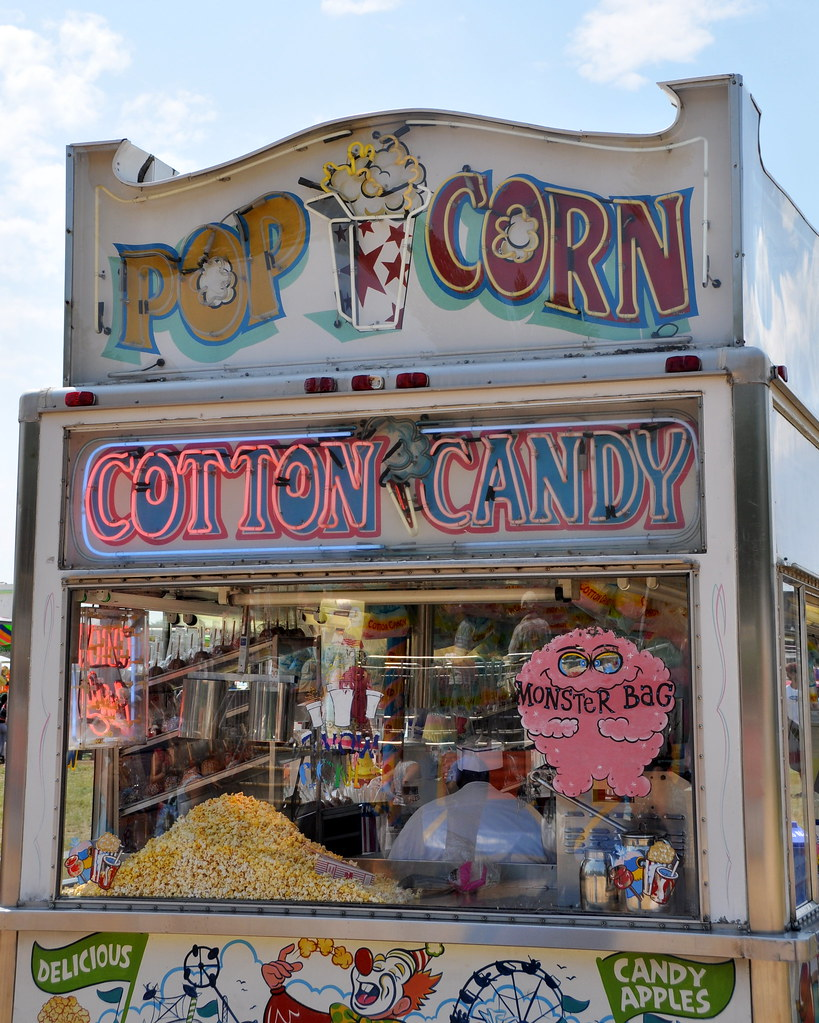 Image Result For Popcorn Cotton Candy