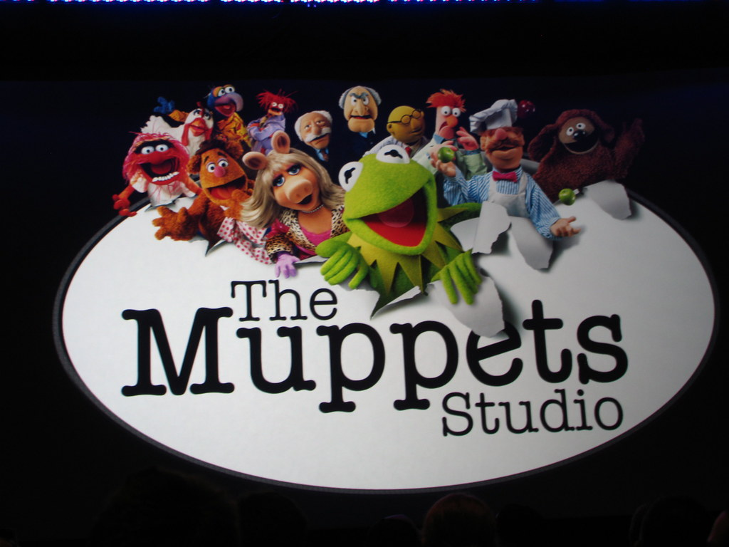 The Muppets Studio   The Muppets Studio logo was splashed ...