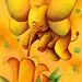 Fairy tale art - Butterfly elephant
