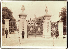 Main Gate, Kew Gardens, late 1800s