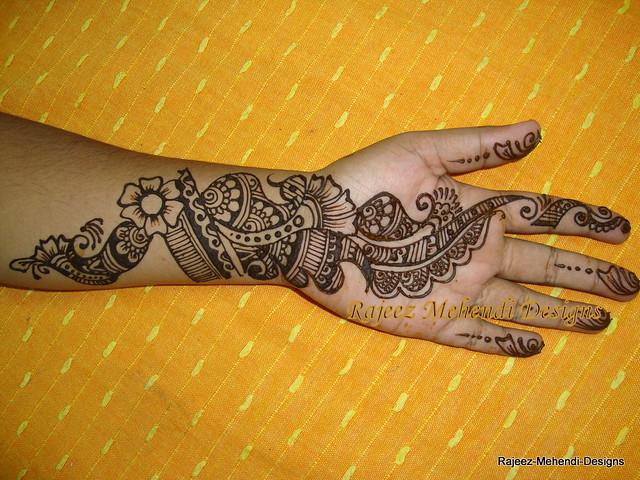 Mehndi Hand Patterns Diwali : Indo arabic henna for diwali design from kundan patel s gu flickr