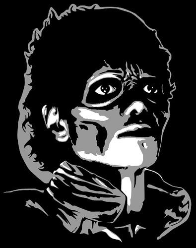 Thriller Stencil Custom Stencil Created For Halloween
