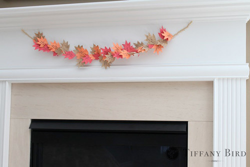 thanksgiving garland | by Simply Modern Mom