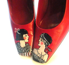 Art Deco Flapper Shoes | by ScholarlyArticles