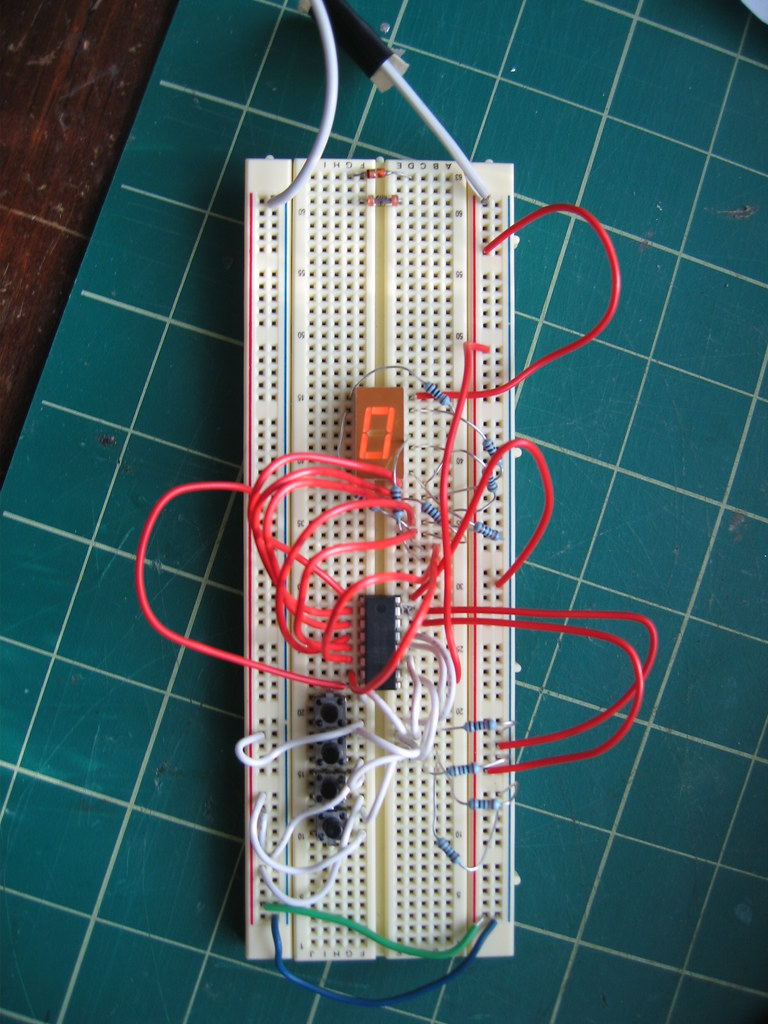 Bcd To 7 Segment Circuit Will Winder Flickr By Willwinder