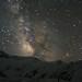 银河和雪山 / Galaxy and snow mountain
