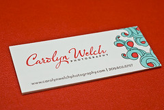 Carolyn Welch Photography :: Business Cards | by Luxecetera