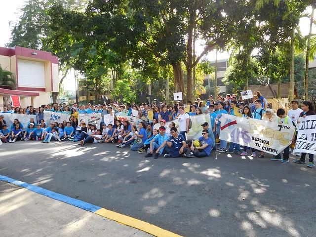 Marcha contra la trata humana
