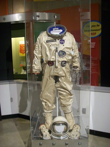 Neil Armstrong Space Suit | This item is on display in the ...