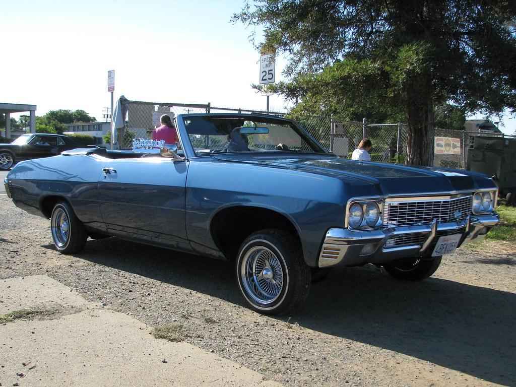 1970 Chevrolet Impala Convertible Custom 4bfk059 02