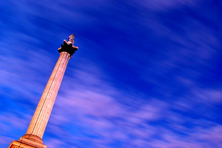 Time flies - Nelsons Column | by littleblom