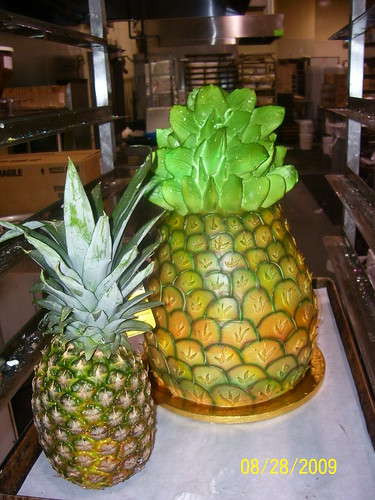 pineapple shaped cake pineapple shape cake 2 sophhia flickr 6546