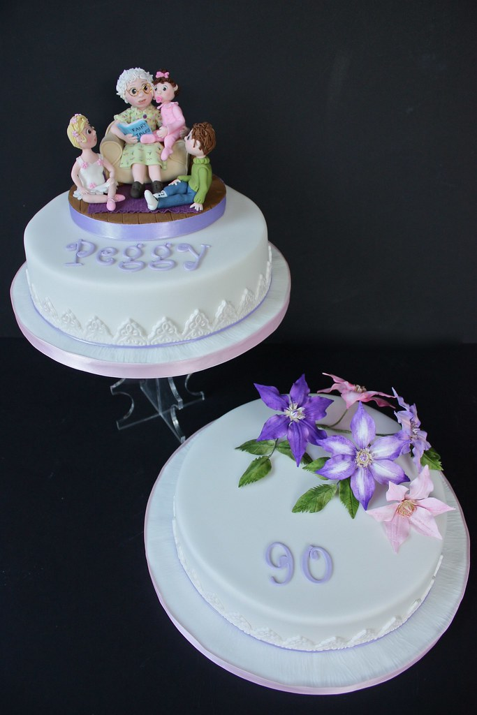 Peggy S 90th Birthday Cake Here It Is