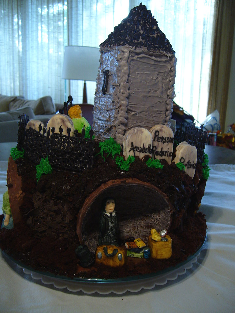 Chocolate Graveyard Cake Neopets
