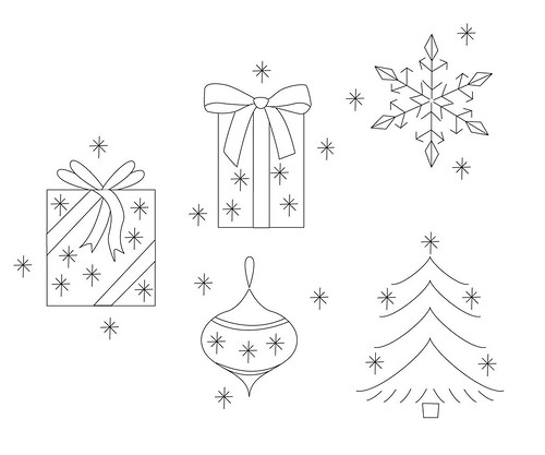 Free Primitive Christmas Patterns