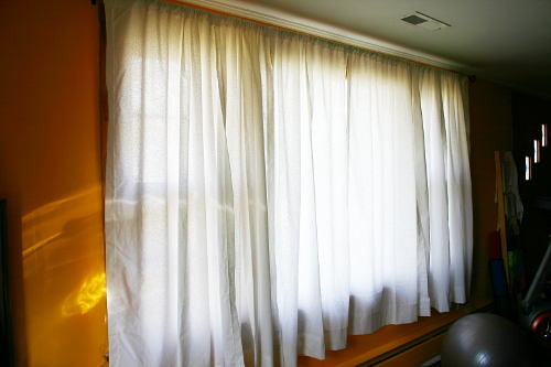 Homemade Curtains Big Window