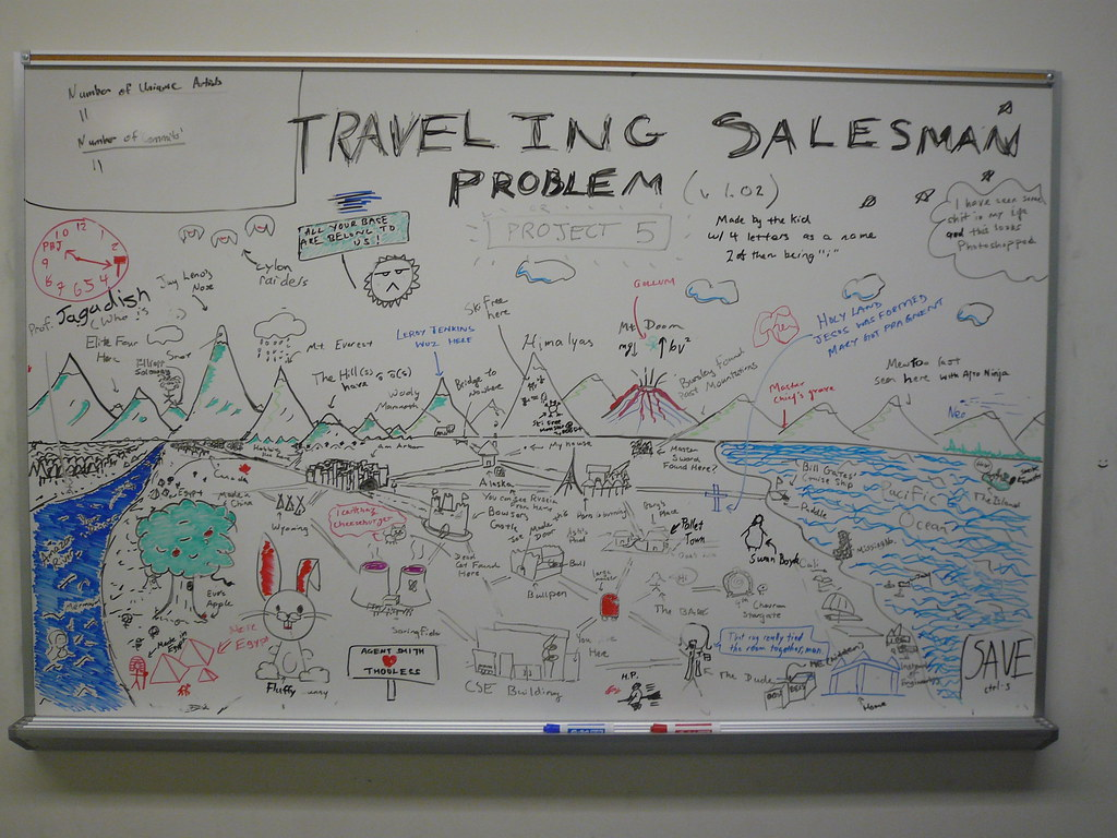 """C++ Implementation of 2-opt to the """"Att48"""" Travelling Salesman Problem"""