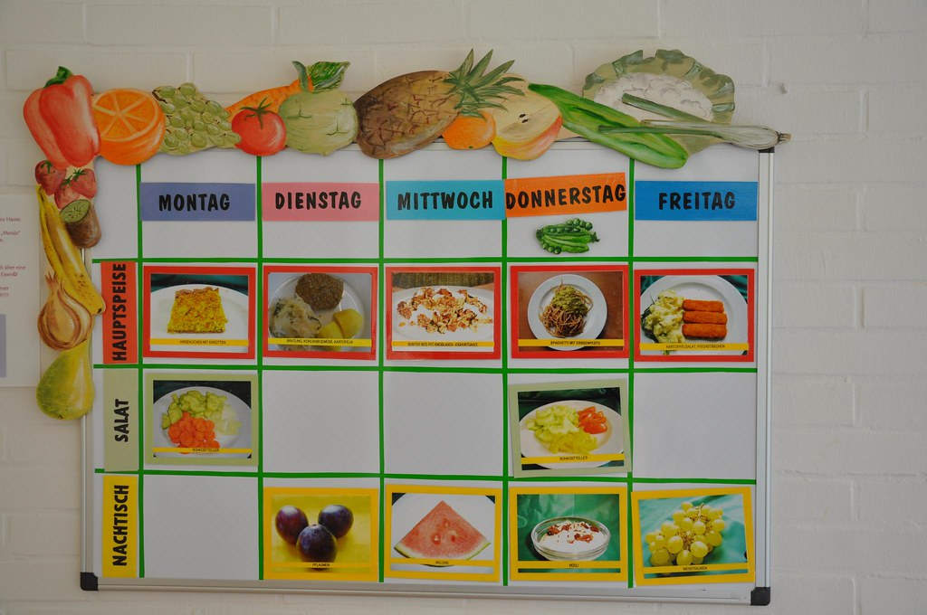 essensplan kindergarten | nik | flickr