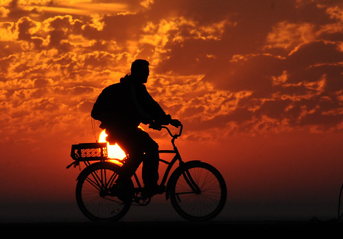 2011 Sunrise Bicyclist | by DrLensCap