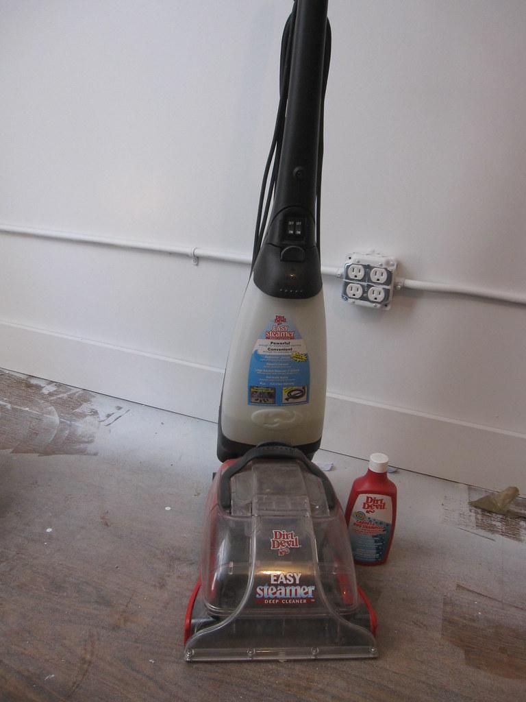 by bigjoshlevine Dirt Devil Easy Steamer Carpet Cleaner with fluid.   by  bigjoshlevine