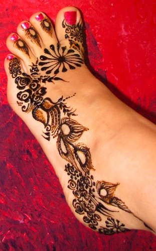 henna on my foot volcano henna by melissa banford flickr. Black Bedroom Furniture Sets. Home Design Ideas