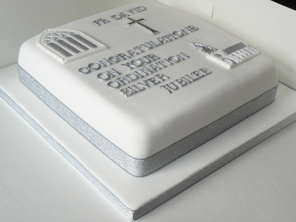 Images Of Ordination Cakes