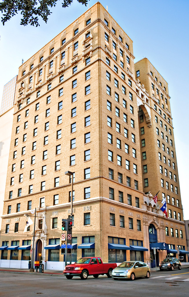 Dallas Hilton Hotel (1925), 1933 Main Street, Dallas, Texa