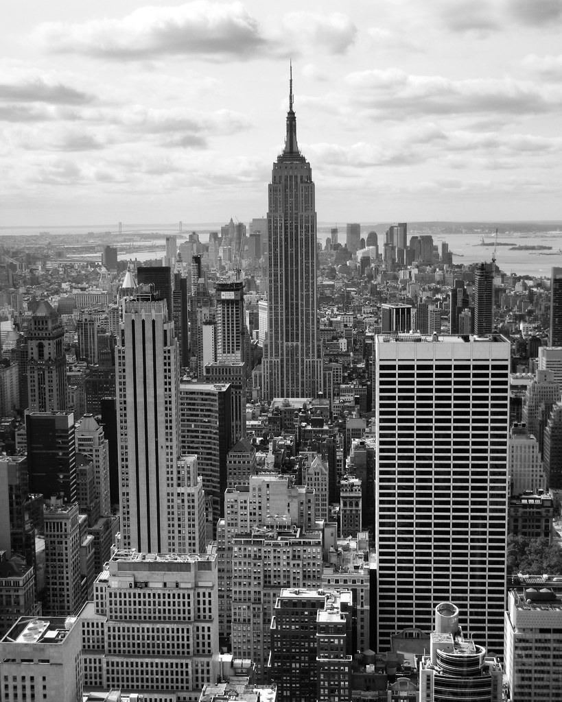 NYC B&W   This is this picture, fiddled with a bit! View ...