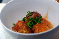 veal ricotta meatballs - take 2 | by sassyradish