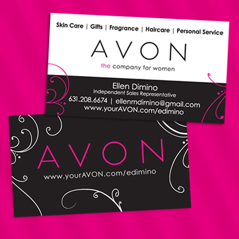 Avon independent sales representative business cards flickr avon independent sales representative business cards by ellendimino reheart Choice Image