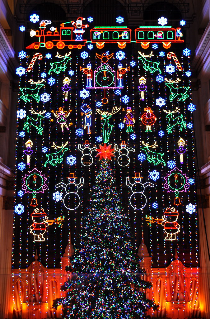 macys christmas light show by kevin burkett