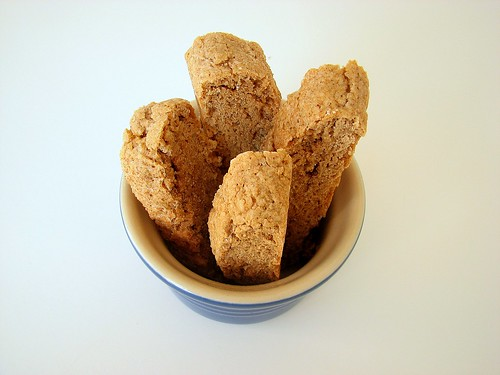 Soft Gingerbread Biscotti | by Tracey's Culinary Adventures