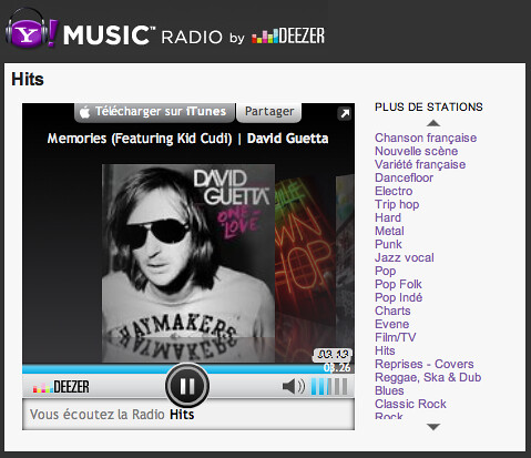 Yahoo! Music Radio by Deezer | Yahoo - Service de presse | Flickr