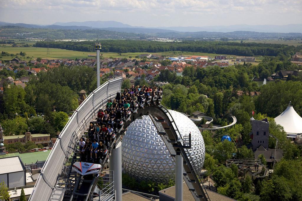 Silver Star (Europa-Park) | Europas höchste und größte Achte ...