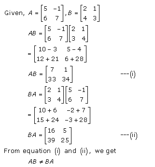 RD Sharma Class 12 Solutions Chapter 5 Algebra of Matrices Ex 5.3 Q2