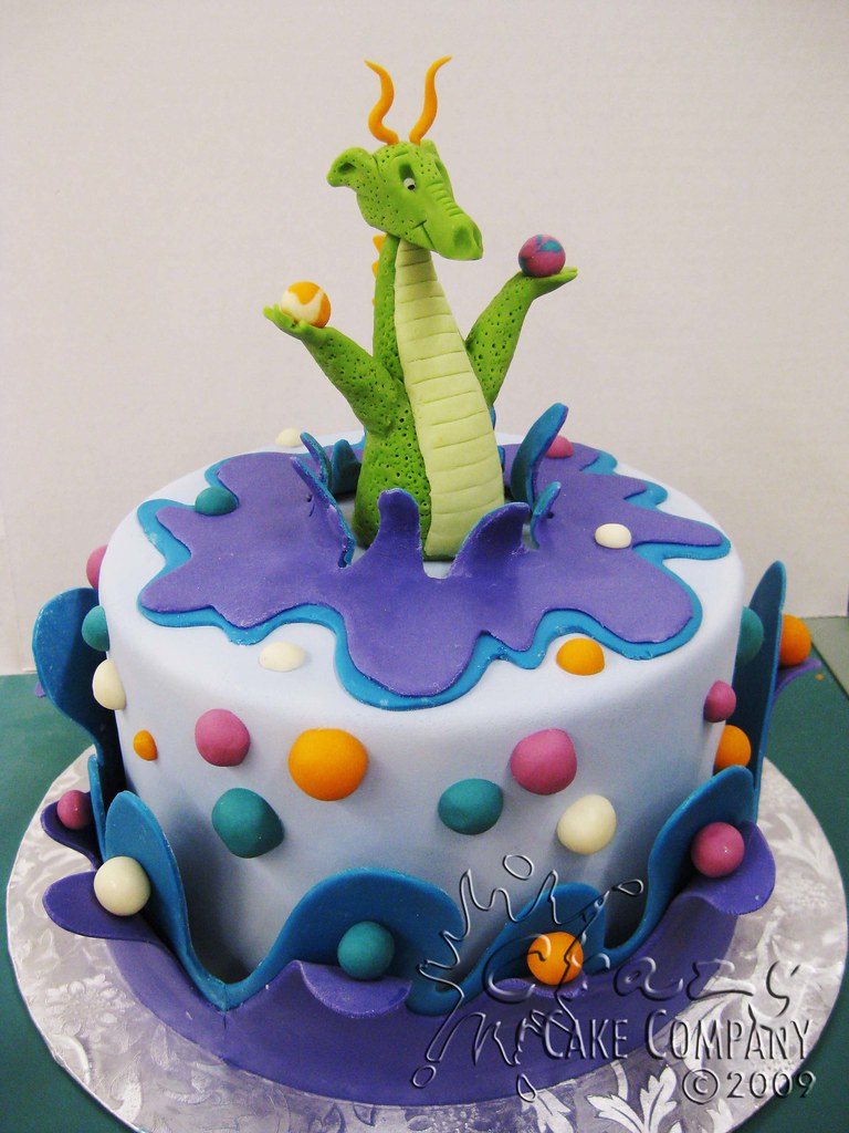 Cake Design Dragon Trainer : Dragon Cake from Mike s Amazing Cake Class The Dragon ...