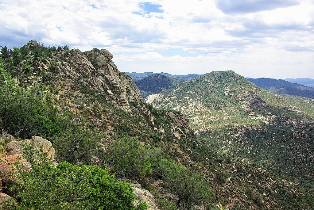 View To West Granite Mountain Prescott Arizona Flickr