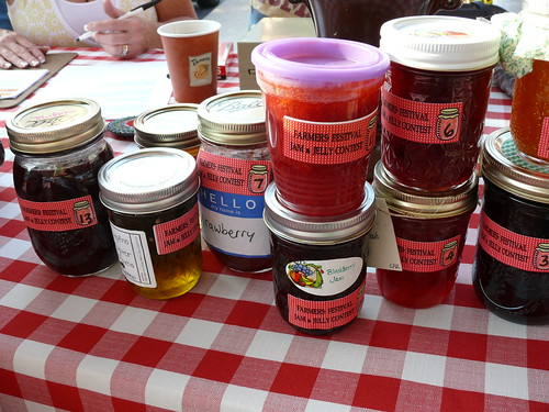 Jelly & Jam Contest Entries at the North Market 8/15/09 | by swampkitty