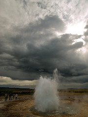 Strokkur í Haukadal | by Bkort photography