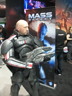 ME2 Booth Commander Jay Shepard 02 | by BioWare Official