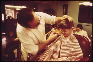 Rockport's Barbershop 02/1973 | by The U.S. National Archives